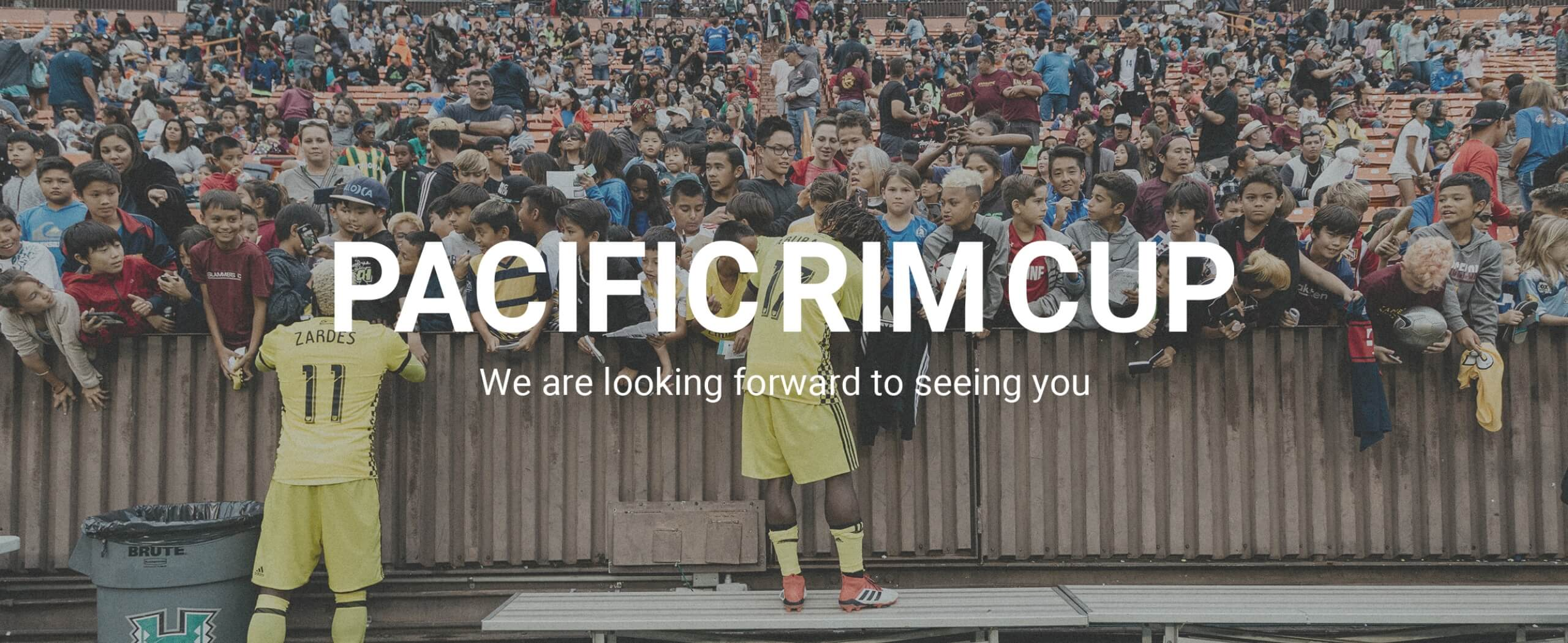 PACIFIC RIM CUP We are looking forward to seeing you in 2021.